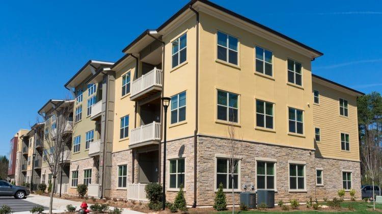 Modern apartment complex exterior - pictures: apartment exterior